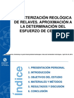 150422 Caracterización Reológica de Relaves Avcr