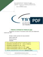 Aula 21 - Regimento Interno TST- Aula 02