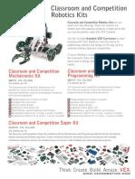 VEX ClassroomAndCompetition Robotics Kitsrev2
