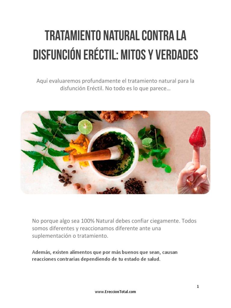 medicina natural disfuncion erectil
