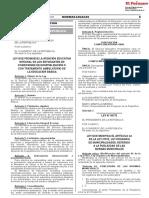 Ley que modifica el artículo 44 de la Ley 27972 Ley Orgánica de Municipalidades referido a la publicidad de las normas municipales