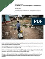 Desigualdade de Renda No Brasil