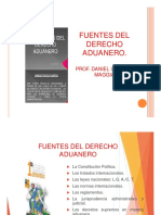 Fuentes Del d. Aduanero