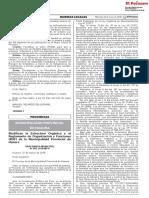 Modifican la Estructura Orgánica y el Reglamento de Organización y Funciones (ROF) de la Municipalidad Provincial de Huaura