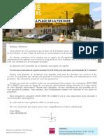 Lettre Lafontaine Avril18