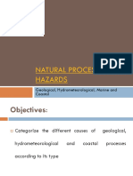 Natural Processes and Hazards