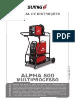 Fonte Multiporcesso Sumig Alpha 500