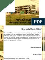 Análisis Foda Universidad Alas Peruanas