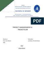 Proiect Managementul Proiectelor