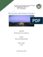 Monografia de Dzilam González