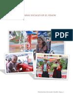 Programas Sociales en El Vraem_peru