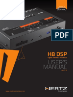 User Manual H8 DSP Rev1 1b