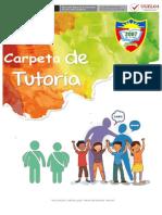 Propuesta de Carpeta Toe Nivel Primaria - 2018