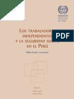 Los Trabajadores Independientes y La Seguridad Social en El Perú