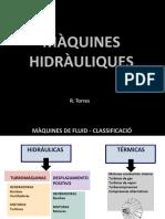 MAQUINAS HIDRÁULICAS ATENEA