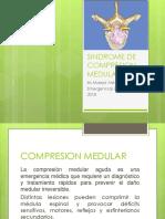 Sindrome de Compresion Medular