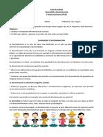 Guía Diversidad y Discriminacion Sotaquí