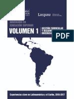Volumen 1 - Gestión Curricular y Desarrollo de La Docencia