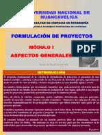 Catedra de Formulación Introducción