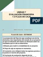 0 U7 Evaluac. Financiera 03 Flujo Caja Estandar - Inversionista