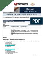 Modelo de Examen Parcial FORM PROY