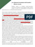 Breve Historia del Ecuador