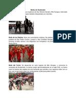 Bailes de Los Paises de Centroamerica
