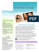 Single Mothers Support Group at Rolling Hills Covenant Church (Rolling Hills Ests., CA)
