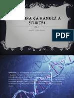 Medicina CA Ramură a Științei