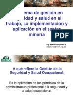 Sgsst y Su Aplicación en Minería