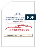 Manual de Calidad Autoservices