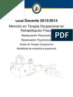 11. Reeducacion Psicomotriz 2013-2014