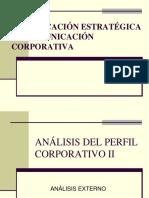 Análisis Del Perfil Corporativo Organizacional
