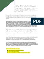 Colchon Viscoelástica Gel y Muelles Flex Nube Visco (Recuperado Automáticamente)