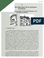 Monographie historique d'Amanzé par Serge du Cray