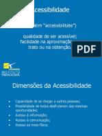 Acessibilidade - Cartilha de Acessibilidade - Considerações e Adequações.