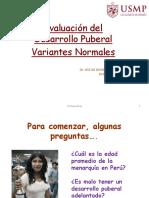 4.2. Evaluación Del Dearrollo Puberal Variantes Normales