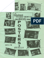 Gaines Sixteen Films Co. Posters & Stills 1971-1972