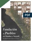 Fundacion de pueblos en Sinaloa y Nayarit.