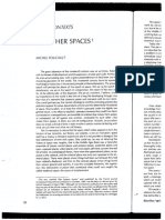Foucault of Other Spaces