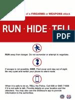 0.01 Run Hide Tell