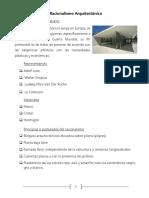 Diferentes Corrientes Arquitectónicas