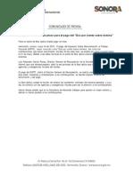"""18/05/18 Amplía SH en Sonora plazo para el pago del """"Dos por ciento sobre nómina"""" -C.051883"""