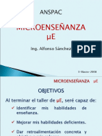 Microenseñanza ANSPAC(Alfonso Sánchez) 17jun