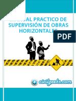 Manual Practico de Supervisión de Obras Horizontales