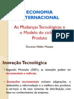 As Mudanças Tecnológicas e o Modelo Do Ciclo Do Produto