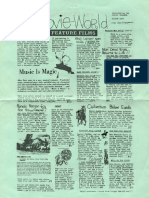 Movie-World Feature Films August 1973