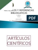 Artículos Científicos y Referencias Bibliograficas 2018