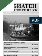 Bilten opštine Ub 19-20