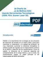 Revemol Peru Capacidades de Diseño de Revestimientos de Molinos SAG